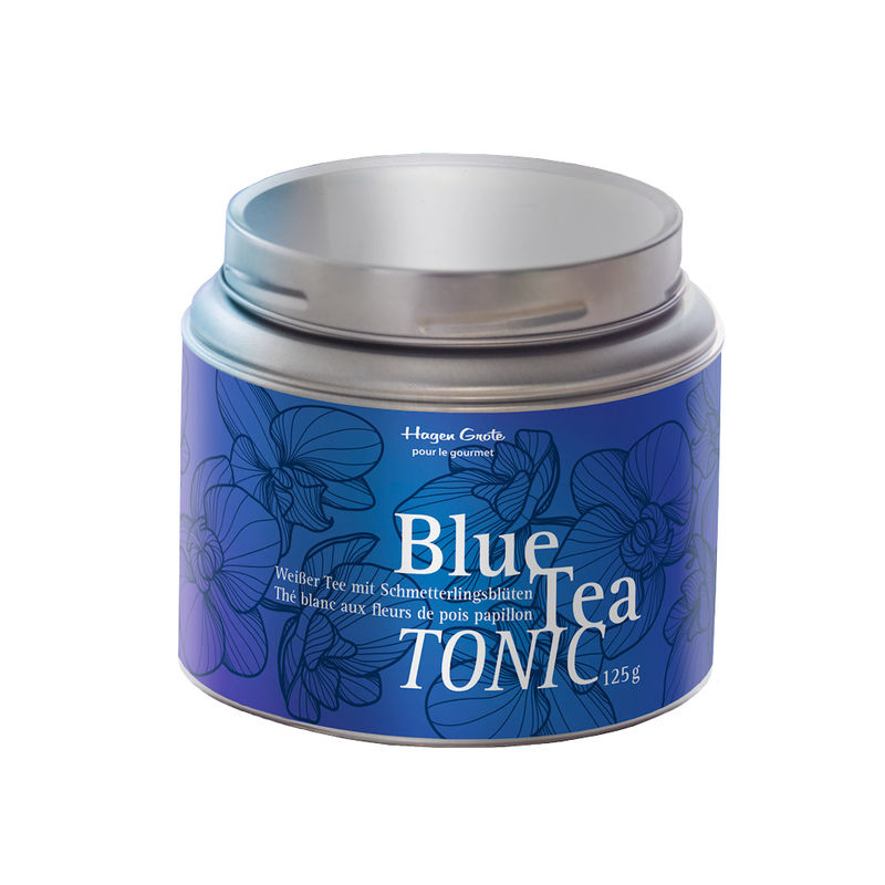 Blue Tea Tonic : base de cocktail sans alcool avec changement de couleur naturel