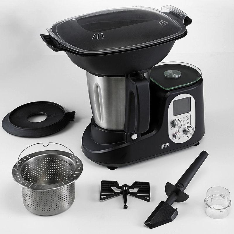 Robot cuiseur multifonction peut tout faire y compris peser et cuire la vapeur en gagnant du - Livre de recette pour robot multifonction cuiseur ...