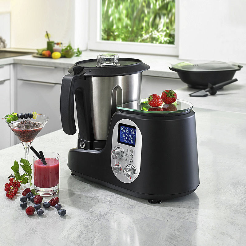 Robot cuiseur multifonction peut tout faire y compris peser et cuire la vapeur en gagnant du - La cuisine a toute vapeur ...