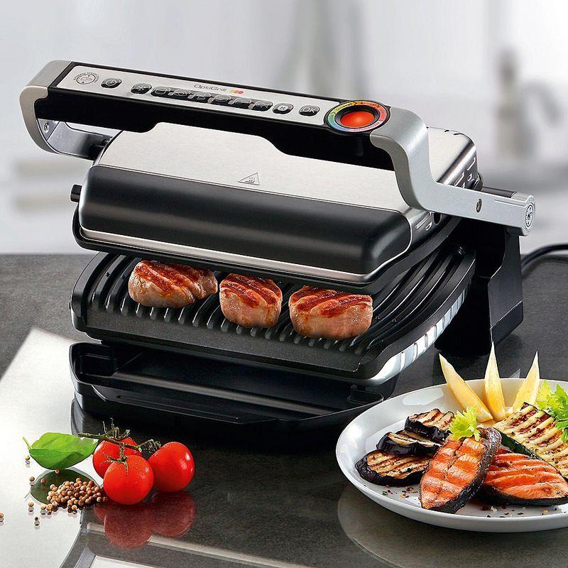 Gril de table multifonctions r glage de temp rature et - Appareil multifonction cuisine et cuisson ...