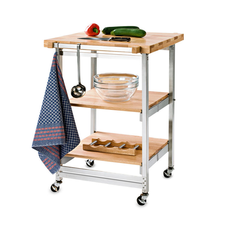 chariot de cuisine mobile hagen grote suisse. Black Bedroom Furniture Sets. Home Design Ideas