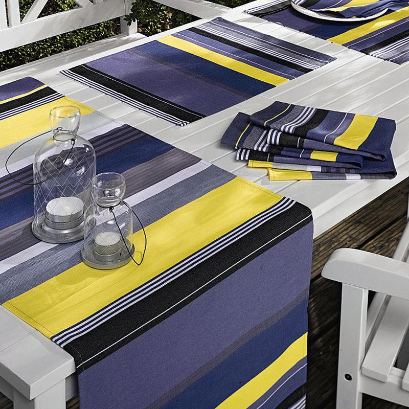 Serviette linge de table estival fran ais de luxe facile d 39 entretien lavable hagen grote - Linge de table luxe ...