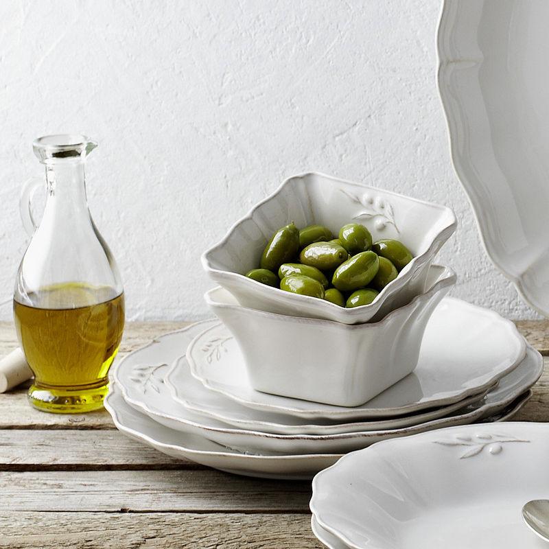 assiettes plates ravissante vaisselle m diterran enne d cor olives et patin hagen grote. Black Bedroom Furniture Sets. Home Design Ideas