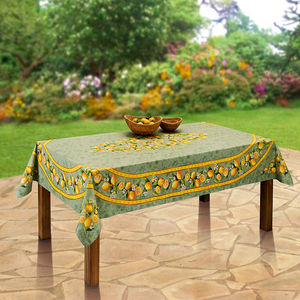 Nappe: linge de table agrumes